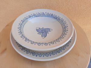 Tatai tányér – mély 6