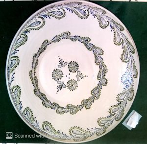 Tatai tányér – mély